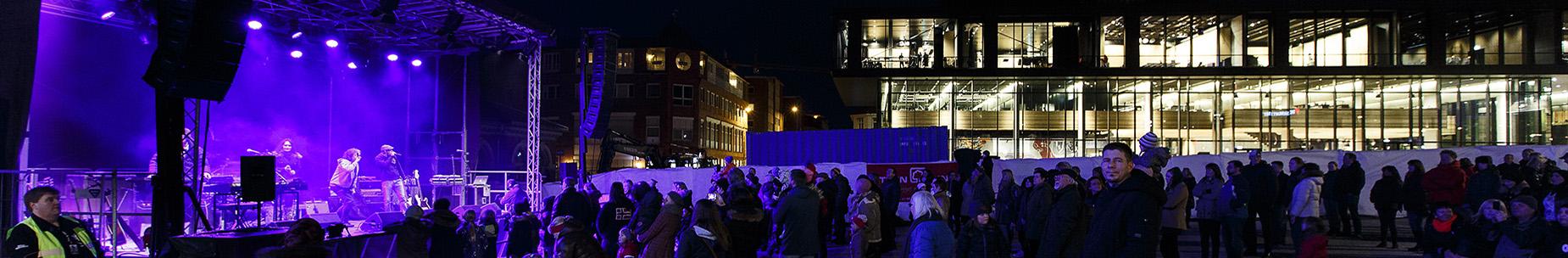 Konsert på Stortorget - foto Kilian Munch