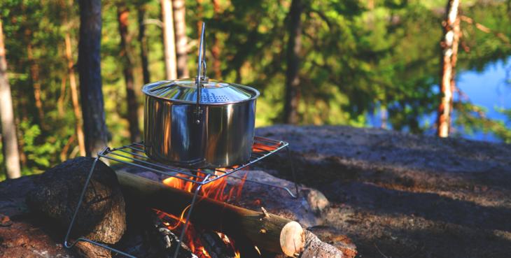 Tenk deg om før du lager bål i skogen
