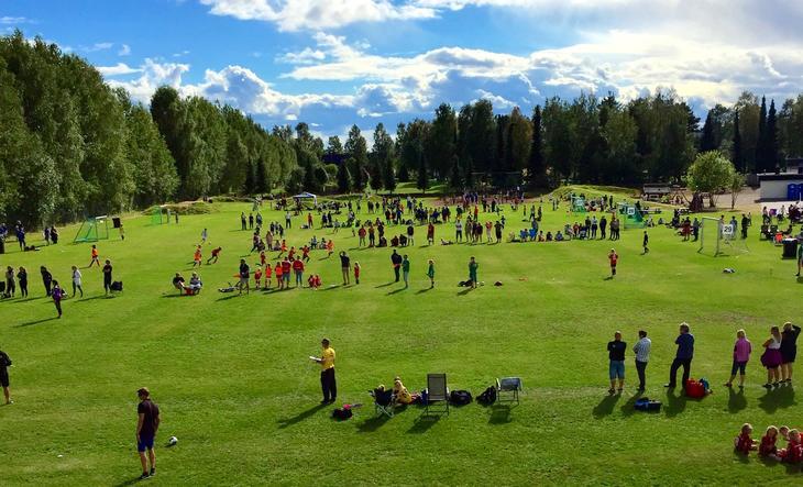 Grueturneringen er Norges nest største fotballturnering