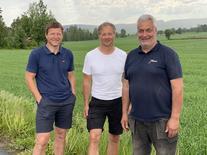 Per Ivar Berg, Ivar Sund og Tom Brauter deltar i prosjektet