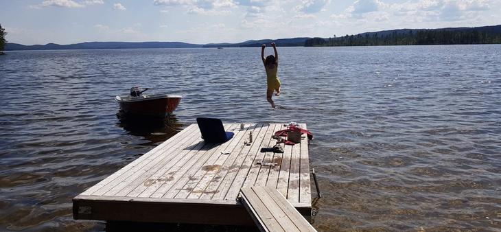 Ta et bad i sommer!
