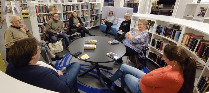 Bokklubb på biblioteket
