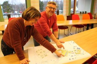 Anita S. Goplen og Sigbjørn Sæter er begge engasjert i Stedsutviklingsprosjektet