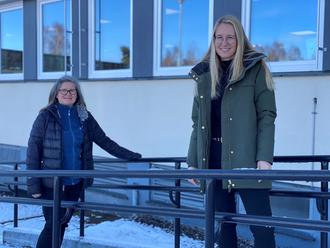 Nina Bergsløkken og Tine Hytjan i Familieteamet