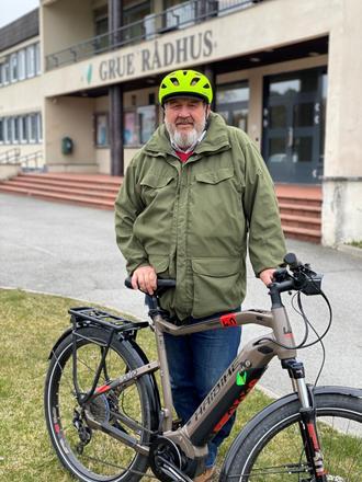 BUA har el-sykler til utlån