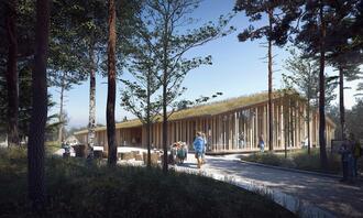 Nytt museumsbygg på Finnskogen